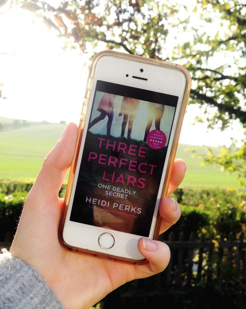 Heidi Perks Three Perfect Liars book cover